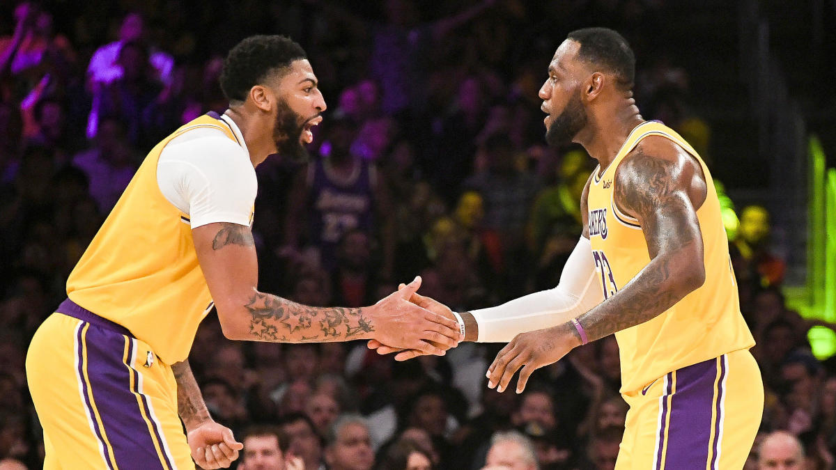 Lakers Midseason Report Card Lebron James And Anthony Davis