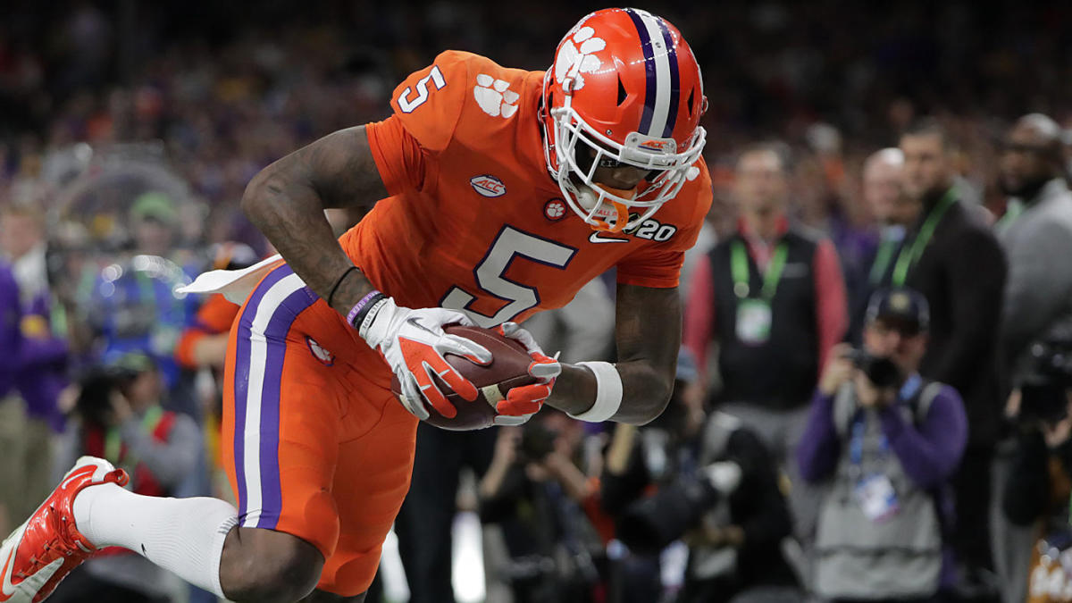 2020 NFL Draft: Clemson star WR and projected first-round pick Tee Higgins turning pro