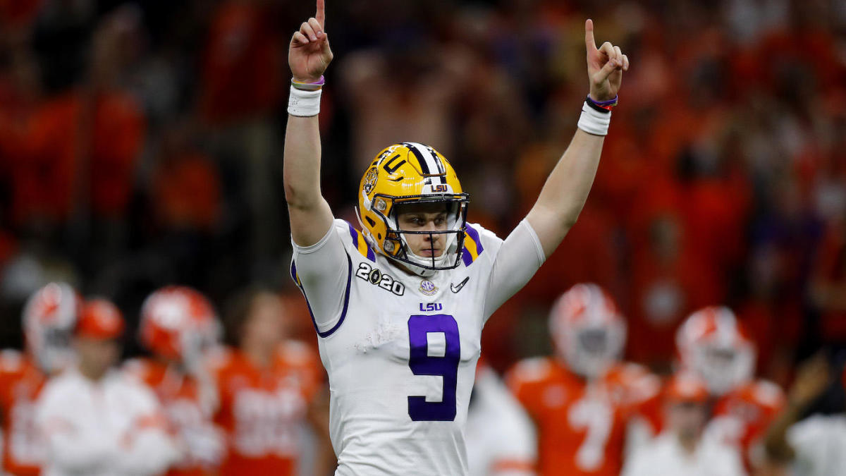 Bengals reportedly have no intention of trading No. 1 overall pick, the projected spot for Joe Burrow