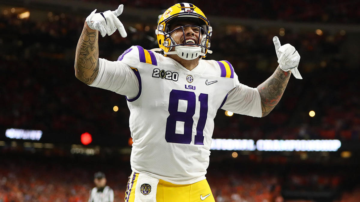 2020 NFL Draft: LSU TE Thaddeus Moss, son of NFL legend Randy Moss, declares for pros