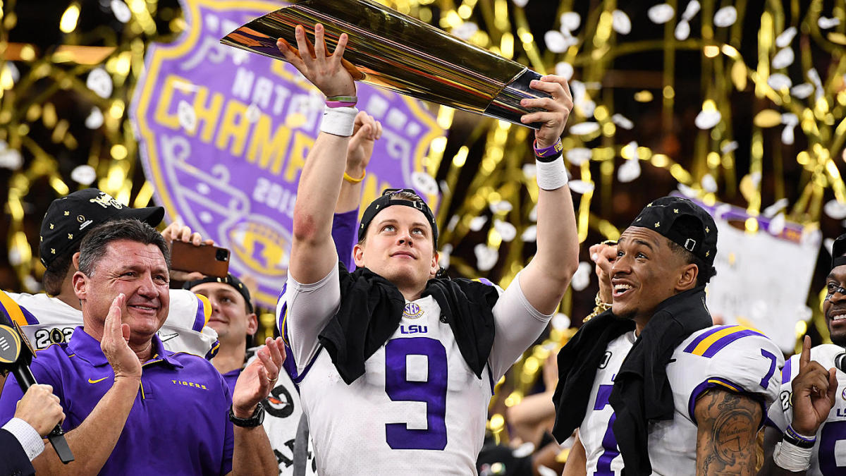 LSU's national championship win puts it in college football's best-ever conversation