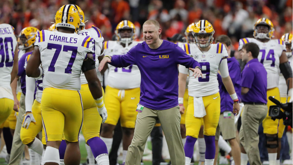 With LSU offensive wizard Joe Brady headed to the Panthers, Ed Orgeron has to find his next great hire