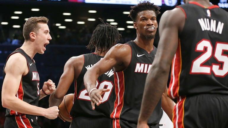 Heat midseason report card: Jimmy Butler's fit, Bam Adebayo's emergence fueling Miami's impressive season