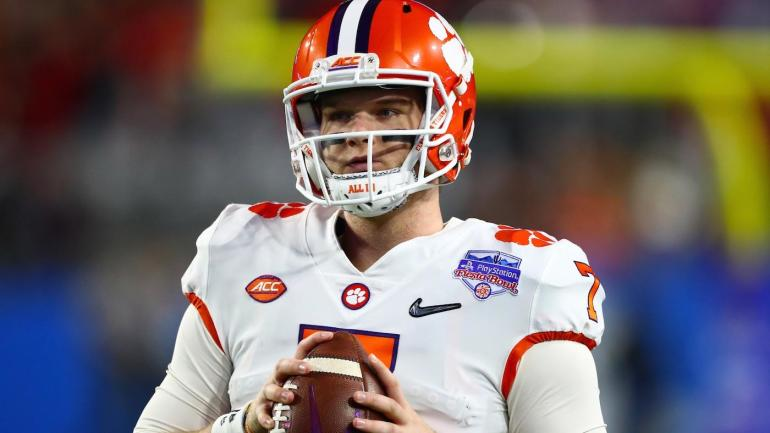 Clemson backup quarterback Chase Brice to transfer out of program