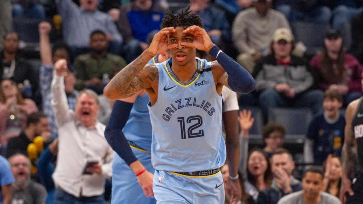 NBA Rookie Power Rankings: Ja Morant has distanced himself from the rest of class in Rookie of the Year race