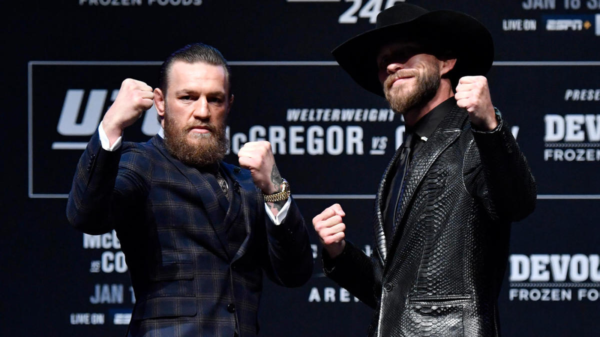 UFC 246 predictions -- Conor McGregor vs. Cowboy Cerrone: Fight card, odds, expert picks, date - CBS Sports image