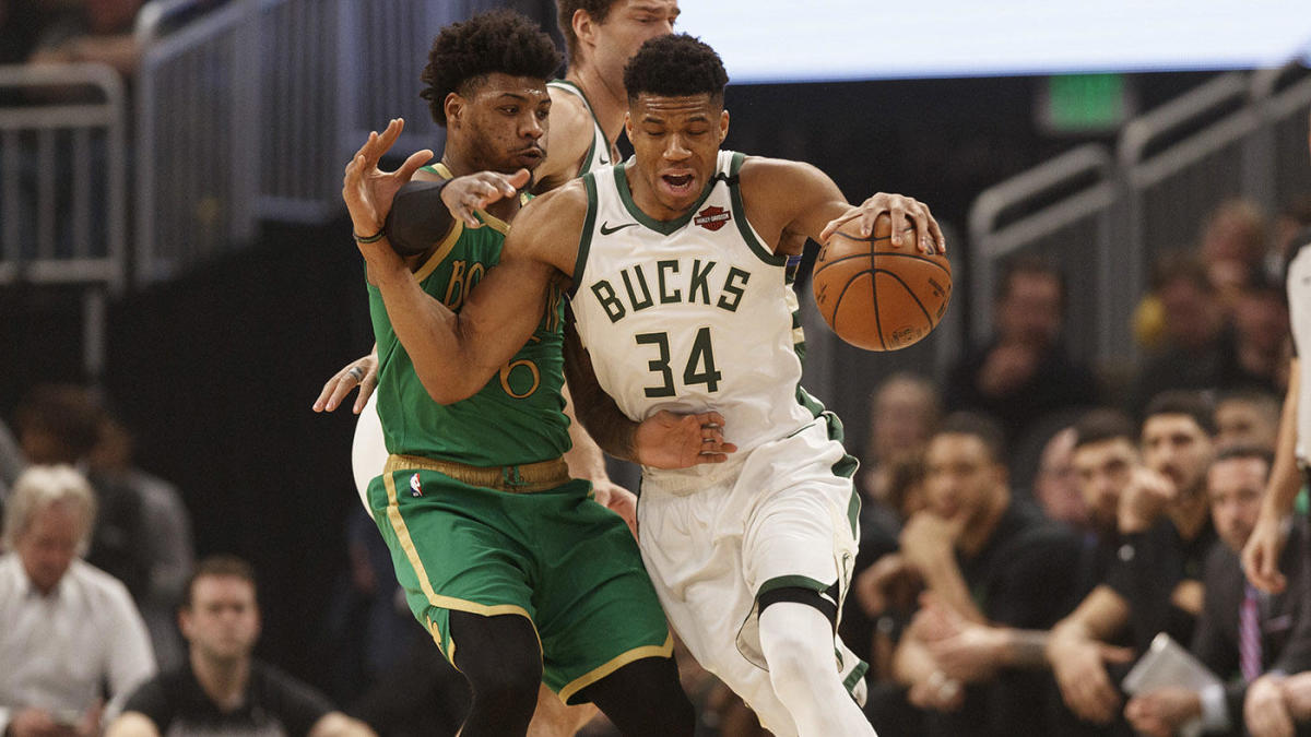 Reigning NBA MVP Giannis Antetokounmpo says the league wants players to flop, be weak