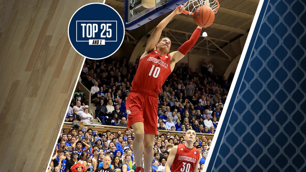 College basketball rankings: Louisville moves to No. 6 in Top 25 And 1 after big road win over Duke