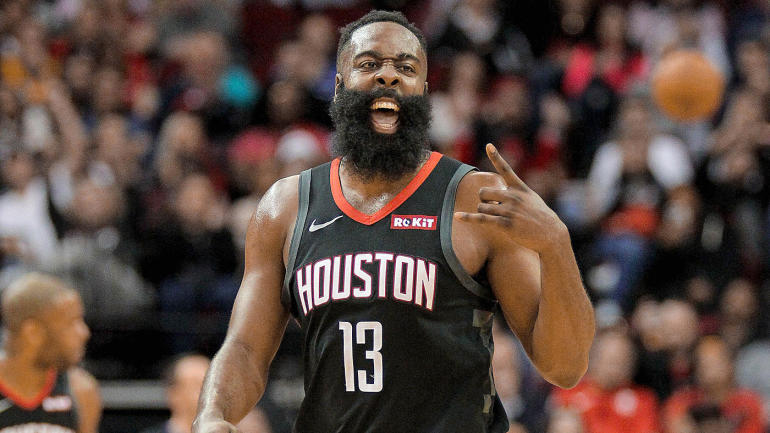 James Harden's 3-point streak, Warriors' epic drop-off among 10 interesting facts from NBA season's first half