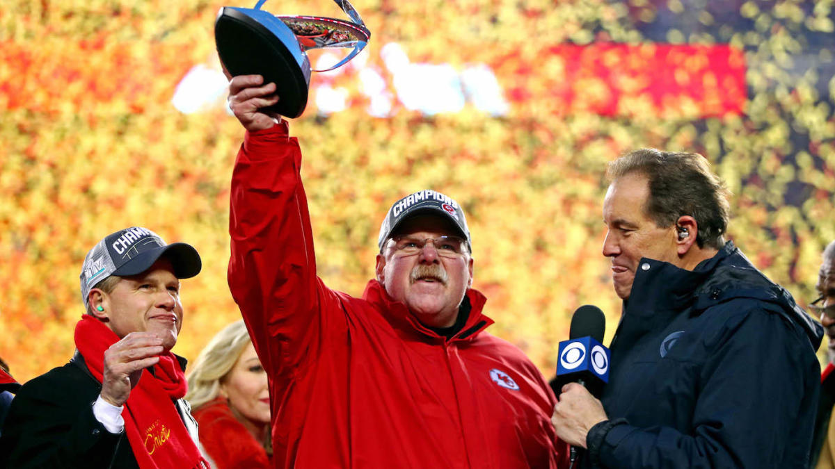 Andy Reid returns to the Super Bowl after 15-year hiatus, the second-longest gap ever for a head coach