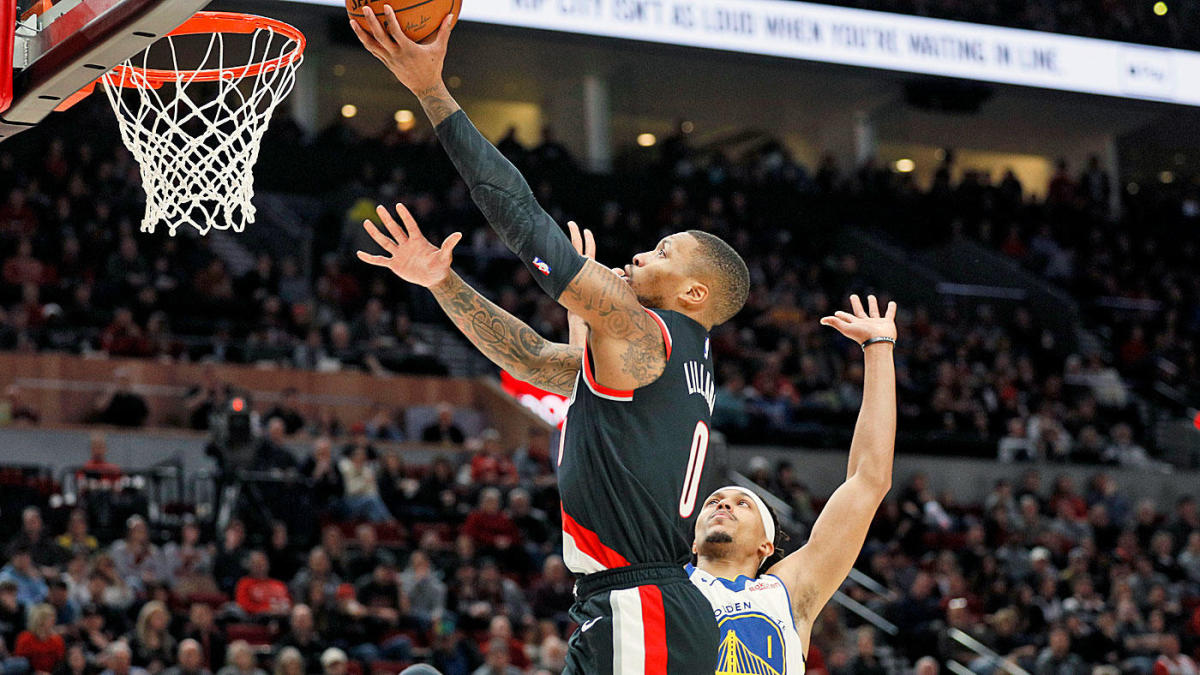 Damian Lillard torches Warriors for career-high 61 points, and somehow the Blazers are right in playoff mix