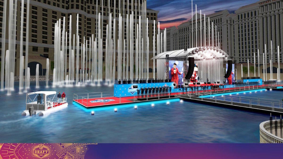 Twitter reacts to NFL's 2020 Draft plans for Las Vegas that include boats, other shennanigans
