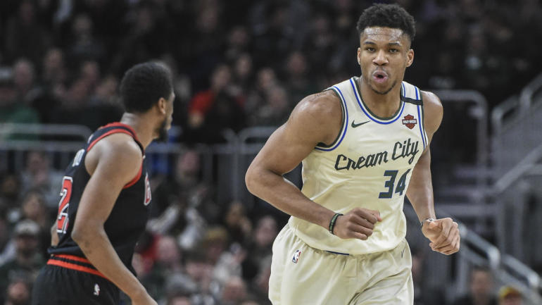 Bucks' Giannis Antetokounmpo makes NBA history by reaching 10,000 points, but has bigger goals ahead