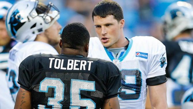 Former NFL fullback Mike Tolbert talks Luke Kuechly's surprising retirement, boxing, and life after football