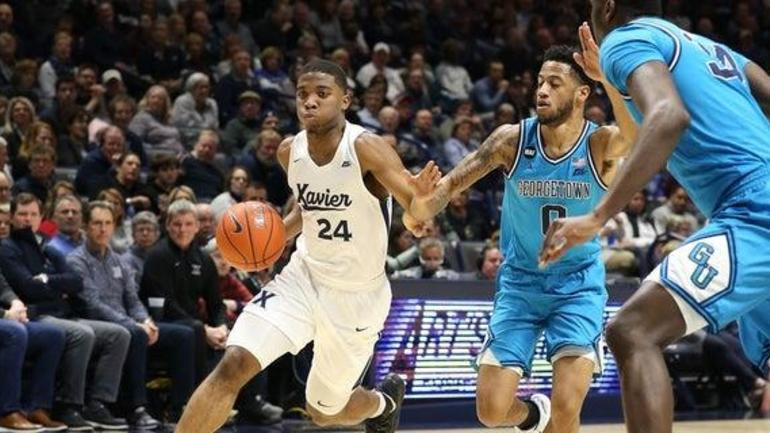 XU changes starting lineup, rolls to 66-57 win over Georgetown