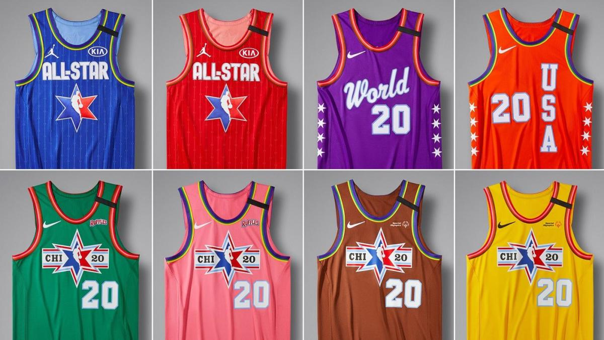 2020 NBA All-Star Game: Jordan brand unveils jerseys that will be worn during the festivities in Chicago
