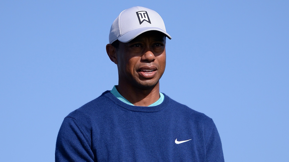 WATCH: Tiger Woods robbed of eagle as ball bounces in and out of cup at Torrey Pines