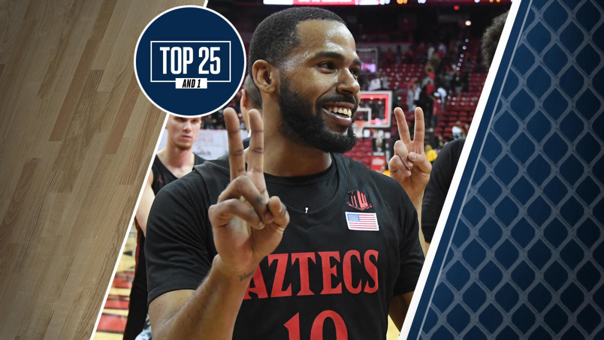 College basketball rankings: San Diego State rallies vs. UNLV and is 21-0 for first time in school history