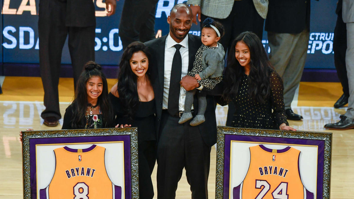 Online petition for Lakers to hang Gianna Bryant's jersey next to ...