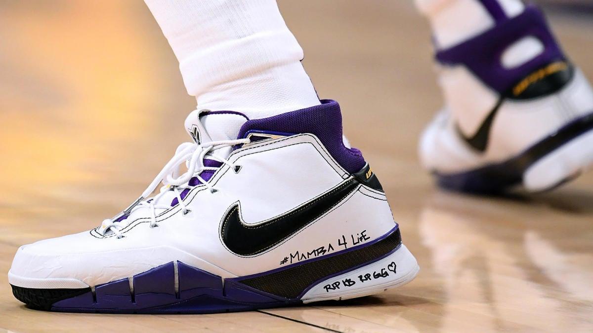 Kobe Bryant sneakers: LeBron James