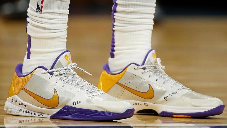 Kobe Bryant sneakers: LeBron James, Kyrie Irving lead wave
