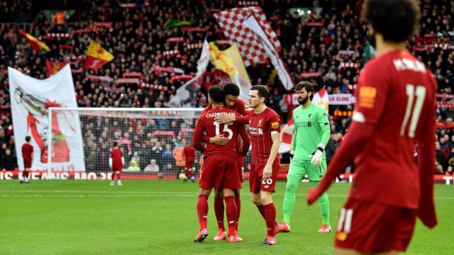 Premier League Scores Takeaways Liverpool Rolls Chelsea And Leicester Draw Bournemouth Helps Its Cause Cbssports Com
