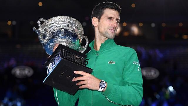 Novak Djokovic đăng quang Australian Open 2020
