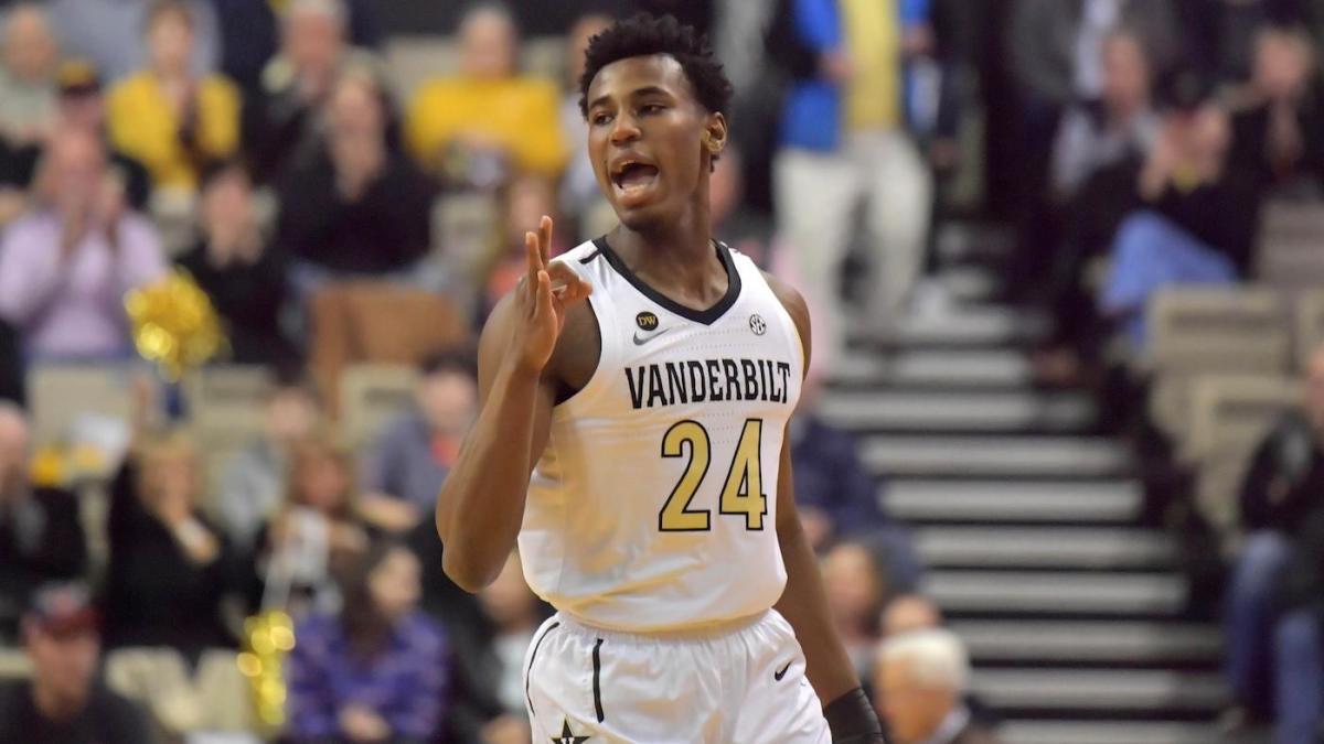 2020 NBA Draft: Vanderbilt star Aaron Nesmith, a projected first ...