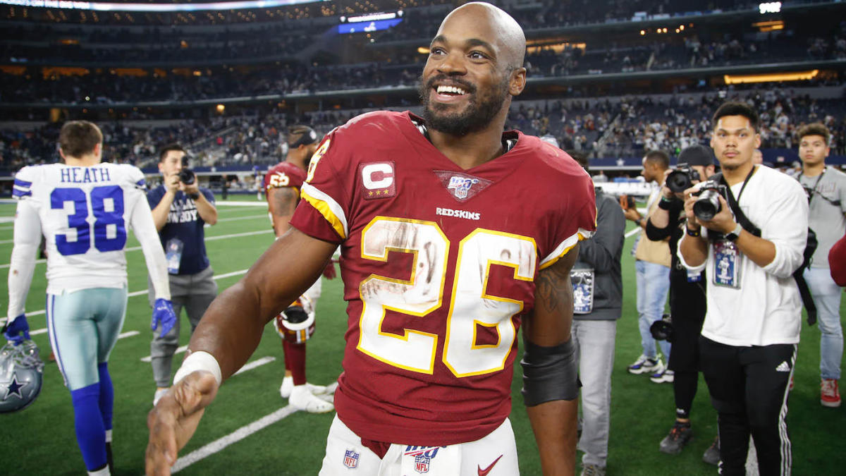 Redskins exercise club option on Adrian Peterson's contract, giving him chance to climb all-time rushing list