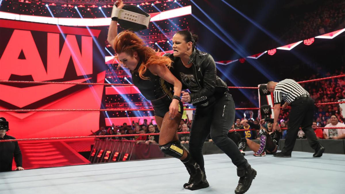 WWE Raw results, recap, grades: Shayna Baszler assaults Becky Lynch, Seth Rollins and Co. stand tall