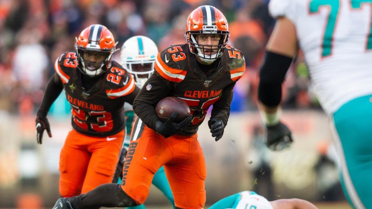 Browns linebacker Joe Schobert expects new GM to talk to his agent over 'the next couple weeks'