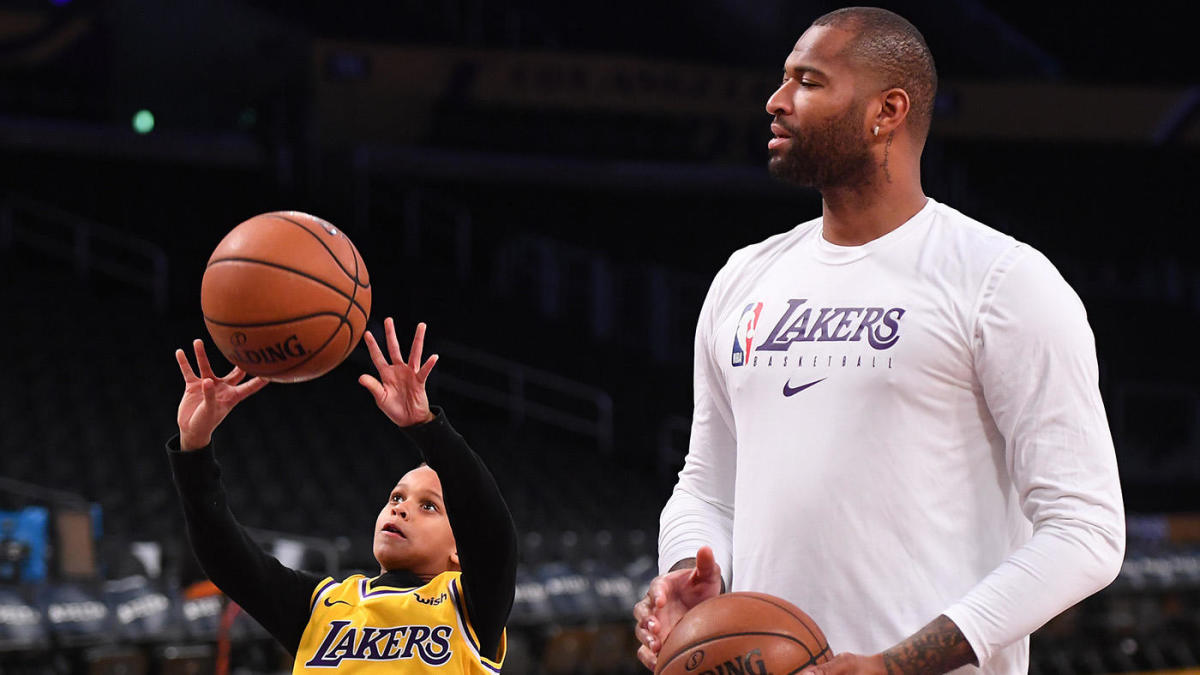 DeMarcus Cousins is 'on track to get healthy by playoffs' according to Lakers coach Frank Vogel