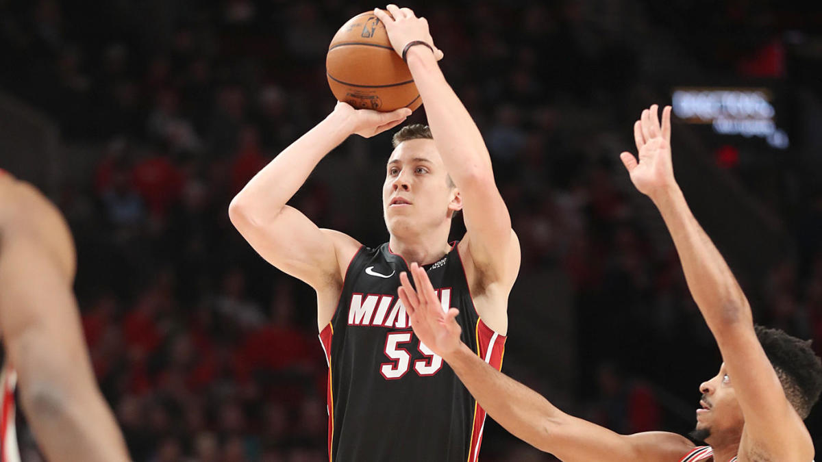 Heat S Duncan Robinson Has Been The Nba S Best 3 Point Shooter This Season And It S Not Really Close Newsopener