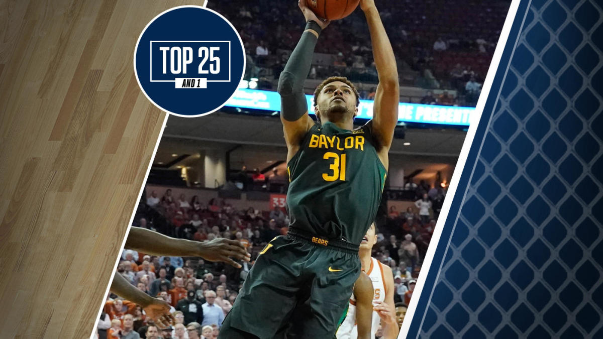 College basketball rankings: Baylor extends winning streak to 22 games, remains No. 2 in Top 25 And 1