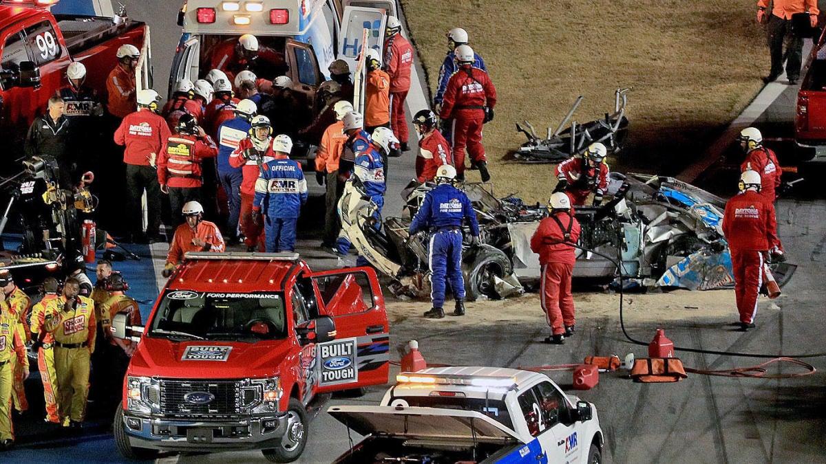 Ryan Newman crash update: Newman is 'awake and speaking' following wreck at Daytona 500