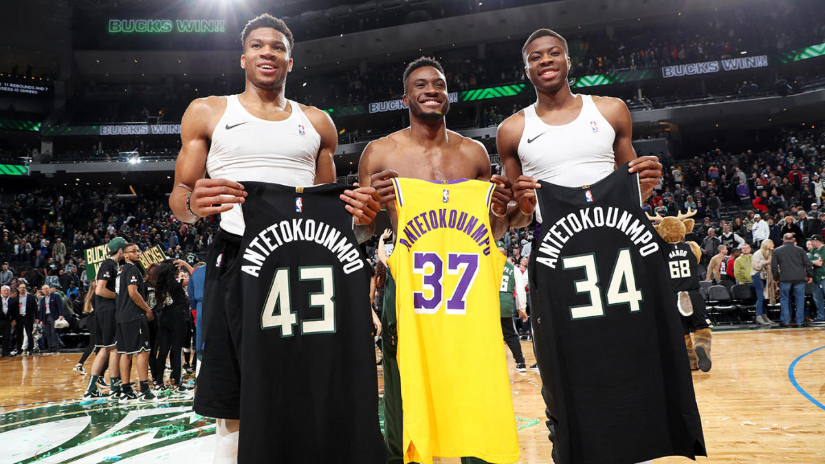 Bucks' Giannis Antetokounmpo says it would be awesome to team up with brothers 'in Milwaukee, L.A., wherever'