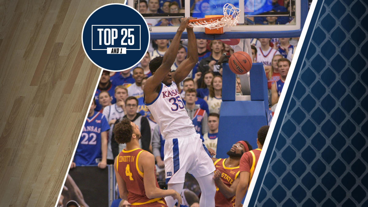 College basketball rankings: Kansas holds steady at No. 4 in Top 25 And 1 after 11th straight win