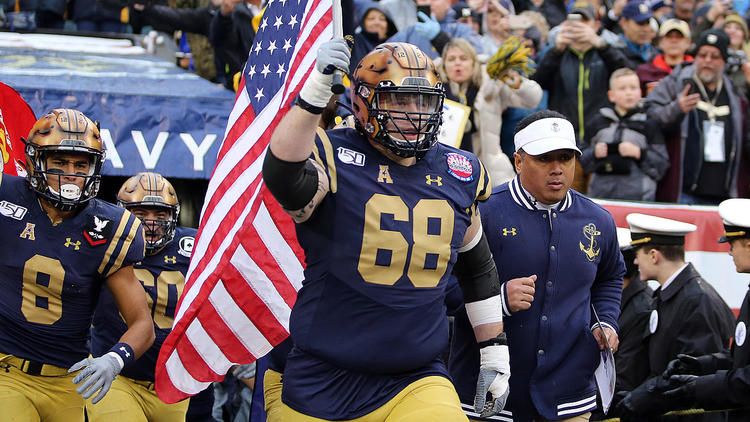 Navy Offensive Lineman David Forney Dies At Age 22 Cbssports Com