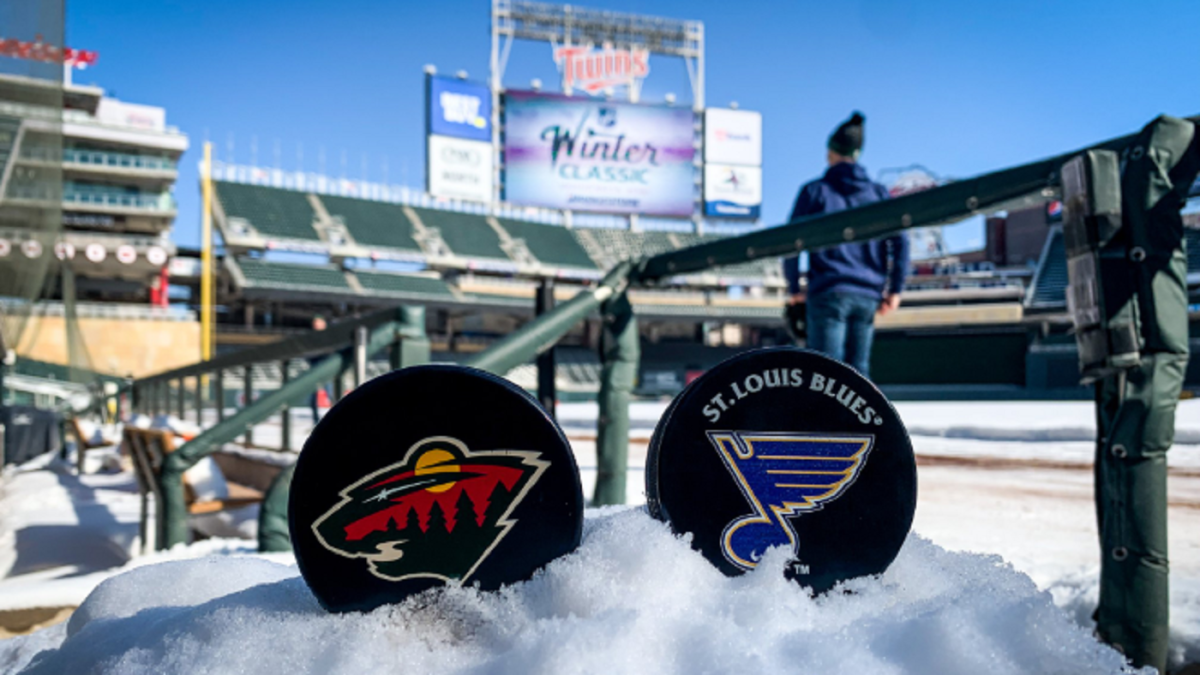 2021 Winter Classic will feature St. Louis Blues as opponent to face Minnesota Wild at Target Field