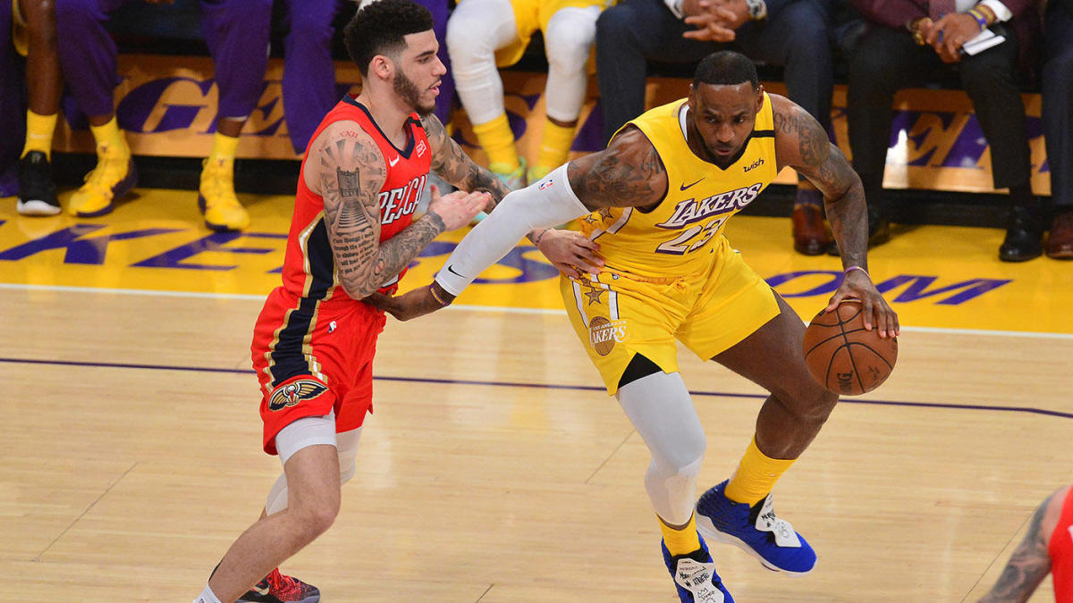 Lakers vs. Pelicans: How to watch LeBron James-Zion Williamson matchup online, live stream info, TV channel