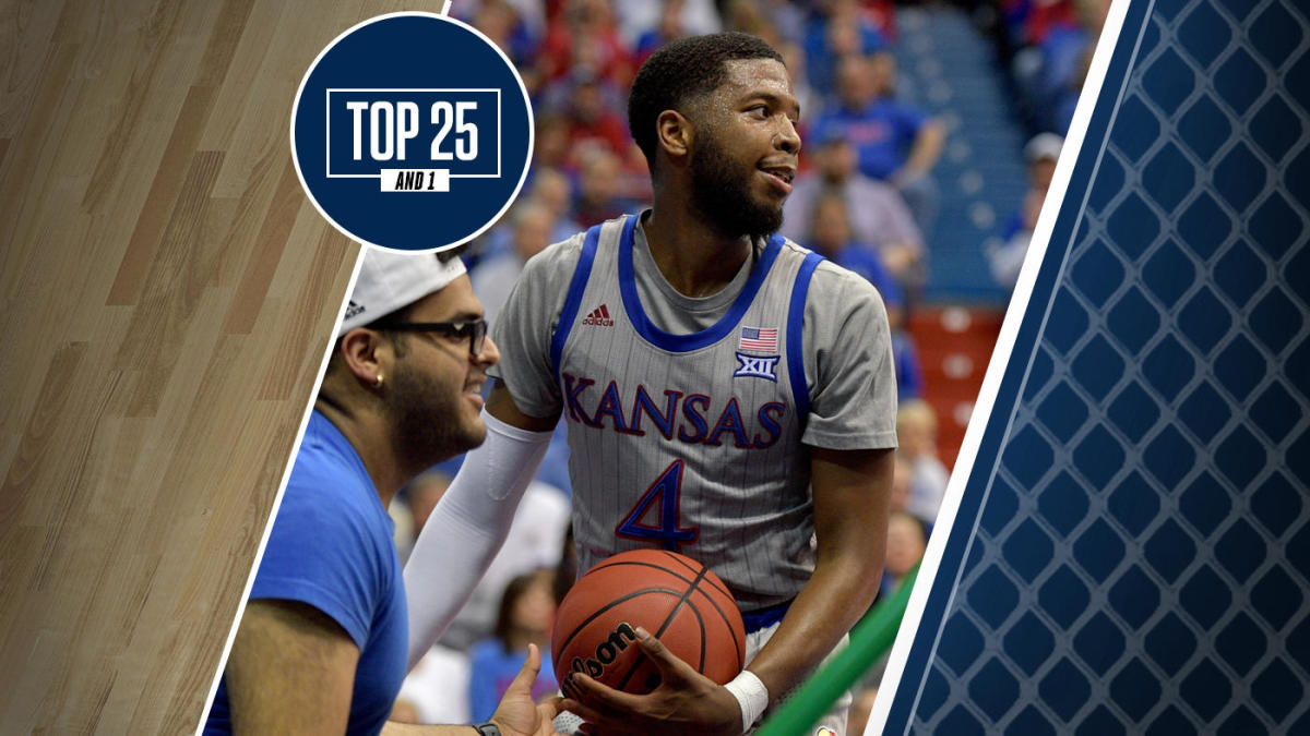 College basketball rankings: Kansas, No. 1 in Top 25 And 1, cruises to 13th straight victory