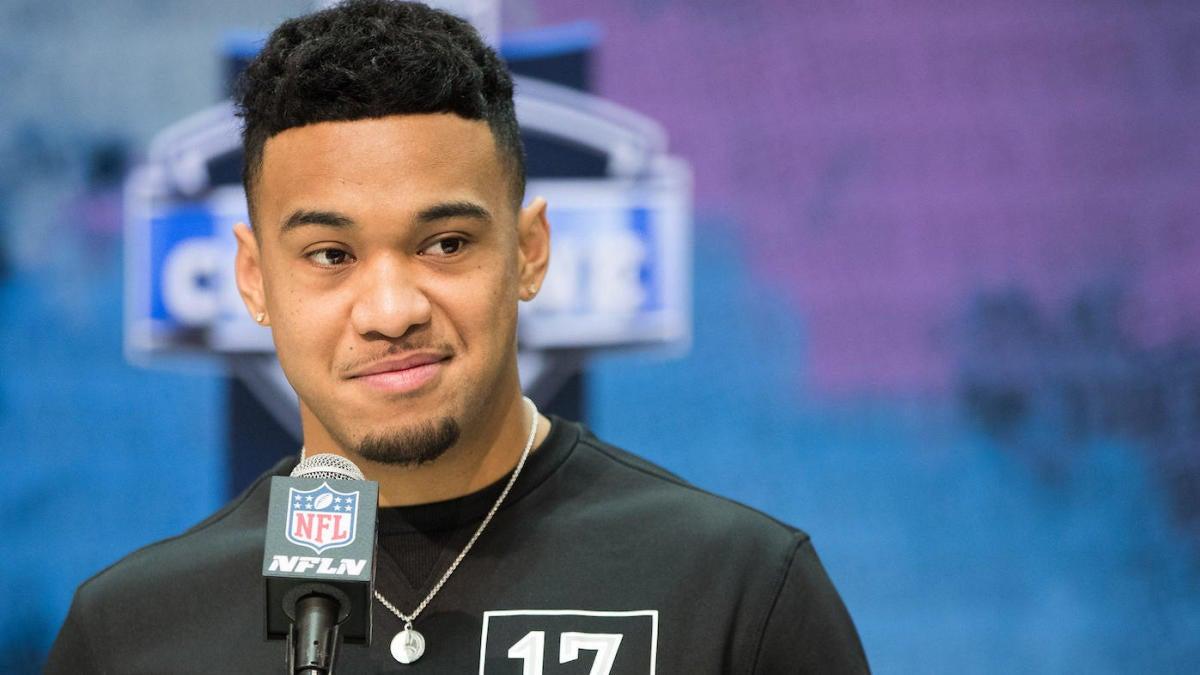 Tua Tagovailoa shares video of himself throwing passes ahead of 2020 NFL  Draft - CBSSports.com