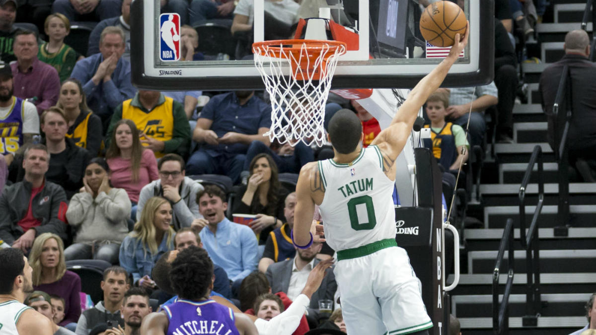 Celtics' Jayson Tatum gets third straight 30-point game and makes history in win over Jazz