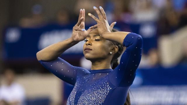 UCLA gymnast Nia Dennis absolutely