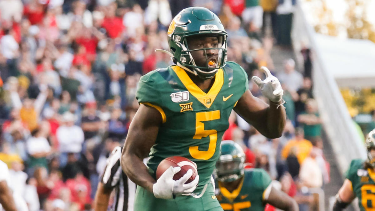 NFL Draft 2020: Baylor WR Denzel Mims reveals the teams that have ...