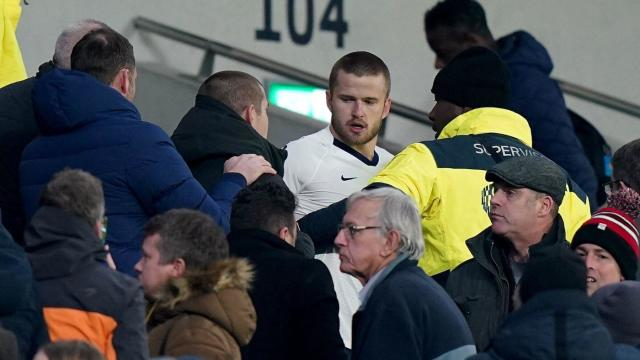 Image result for eric dier confronts fan