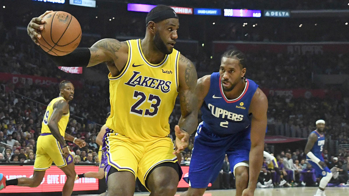 Ranking NBA playoff matchups we hope to see this season, including LeBron vs. Zion, Lakers vs. Clippers