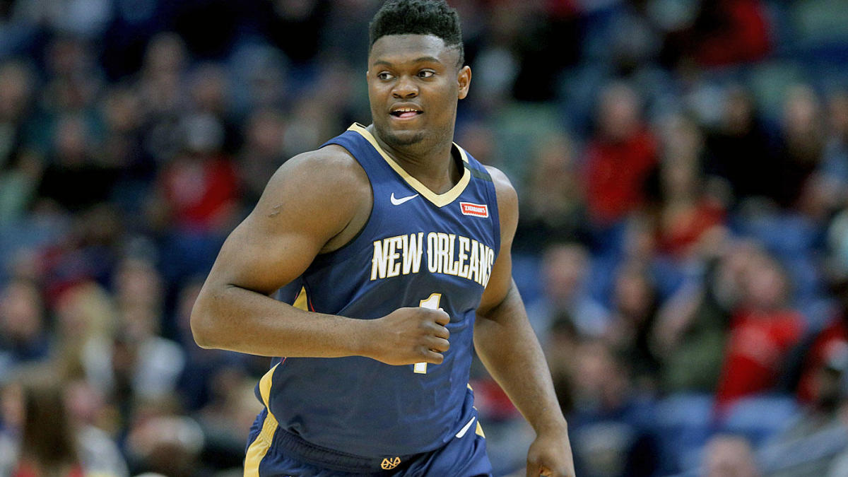 Pelicans' Zion Williamson has been keeping in shape during NBA ...