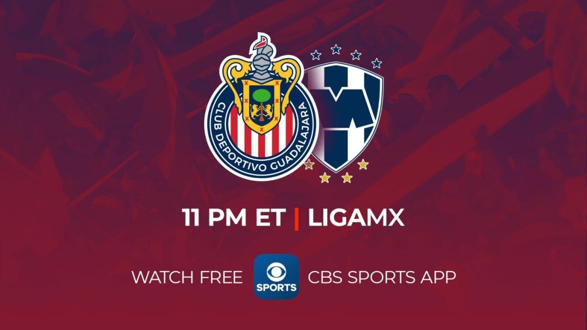 Guadalajara Vs Monterrey Watch Live Stream Chivas Rayados Liga MX Game In English On CBS Sports CBSSports com