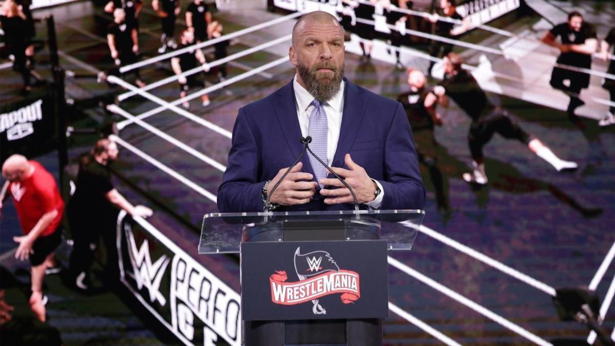 Triple H addresses decision to move forward with WWE WrestleMania 36 card amid coronavirus pandemic